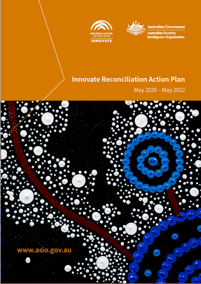 ASIO Innovate Reconciliation Action Plan Cover image